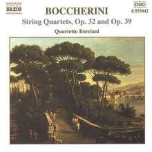 Luigi Boccherini (1743-1805): Streichquartette op.32 Nr.1 & 2;op.39, CD