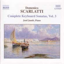 Domenico Scarlatti (1685-1757): Klaviersonaten Vol.3, CD