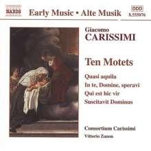 Giacomo Carissimi (1605-1674): 10 Motetten, CD