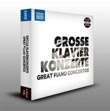 Große Klavierkonzerte, 5 CDs
