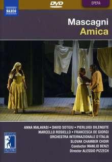 Pietro Mascagni (1863-1945): Amica, DVD