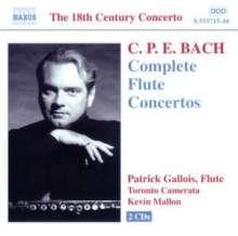 Carl Philipp Emanuel Bach (1714-1788): Flötenkonzerte Wq.22,166-169, 2 CDs