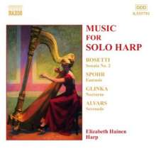 Elizabeth Hainen,Harfe, CD