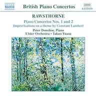 Alan Rawsthorne (1905-1971): Klavierkonzerte Nr.1 & 2, CD