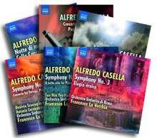 Alfredo Casella (1883-1947): Symphonische Werke (Exklusiv für jpc), 6 CDs