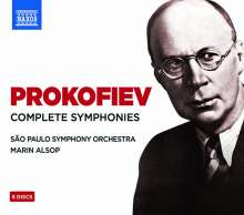 Serge Prokofieff (1891-1953): Symphonien Nr.1-7, 6 CDs