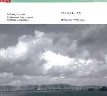 Peder Gram (1881-1956): Orchesterwerke Vol.1, CD