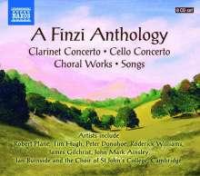 Gerald Finzi (1901-1956): A Finzi Anthology, 8 CDs
