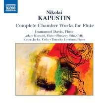 Nikolai Kapustin (1937-2020): Kammermusik für Flöte, CD