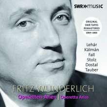 Fritz Wunderlich - Operetten-Arien, 2 CDs
