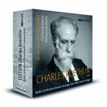 Charles Koechlin (1867-1950): Edition Charles Koechlin - Orchesterwerke & Vokalmusik, 7 CDs