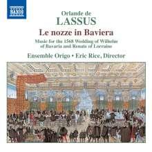 """Orlando di Lasso (Lassus) (1532-1594): Geistliche Chorwerke """"Le Nozze in Baviera"""", CD"""