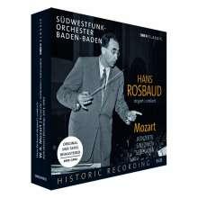 Hans Rosbaud dirigiert Mozart, 10 CDs