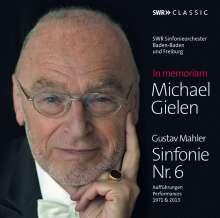 In Memoriam Michael Gielen - Mahler: Symphonie Nr.6, 3 CDs