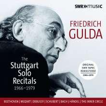 Friedrich Gulda - The Stuttgart Solo Recitals 1966-1979, 7 CDs