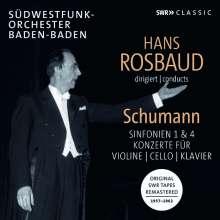 Hans Rosbaud dirigiert Schumann, 3 CDs