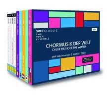SWR Vokalensemble Stuttgart - Chormusik der Welt, 9 CDs
