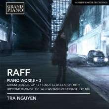 Joachim Raff (1822-1882): Klavierwerke Vol.3, CD