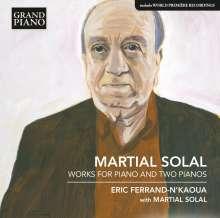 Martial Solal (geb. 1927): Klavierwerke & Werke für 2 Klaviere, CD