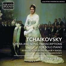 Peter Iljitsch Tschaikowsky (1840-1893): Opern- und Liedtranskriptionen für Klavier, CD