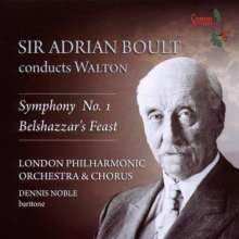 William Walton (1902-1983): Symphonie Nr.1, CD