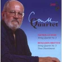 Nicholas Maw (1935-2009): Streichquartett Nr.3, CD