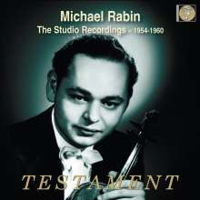 Michael Rabin - The Studio Recordings, 6 CDs