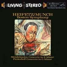 Felix Mendelssohn Bartholdy (1809-1847): Violinkonzert op.64 (180g), LP
