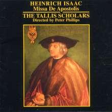 Heinrich Isaac (1450-1517): Missa de Apostolis, CD