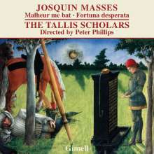 "Josquin Desprez (1440-1521): Missa ""Malheur me bat"", CD"