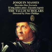 "Josquin Desprez (1440-1521): Missa ""Faisant Regretz"", CD"