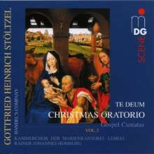 Gottfried Heinrich Stölzel (1690-1749): Weihnachtsoratorium II (Evangeliums-Kantaten), CD
