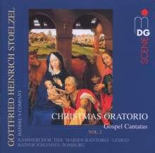 Gottfried Heinrich Stölzel (1690-1749): Weihnachtsoratorium II (Evangeliums-Kantaten), Super Audio CD
