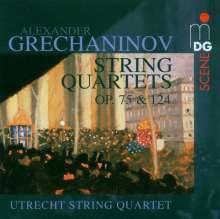 Alexander Gretschaninoff (1864-1956): Streichquartette Nr.3 & 4 (opp.75 & 124), CD