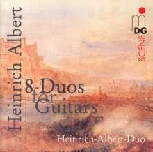 Heinrich Albert (1870-1950): 8 Duos für Gitarren, CD