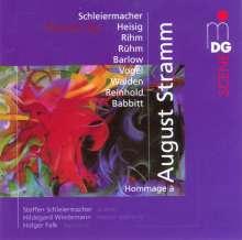 Hommage a August Stramm, CD