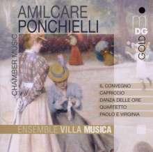 Amilcare Ponchielli (1834-1886): Kammermusik, CD