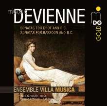 Francois Devienne (1759-1803): Sonaten für Oboe & Bc opp.70 & 71, 2 CDs