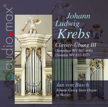 Johann Ludwig Krebs (1713-1780): Clavier-Übung III, CD