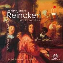 Johann Adam Reincken (1643-1722): Cembalowerke, Super Audio CD