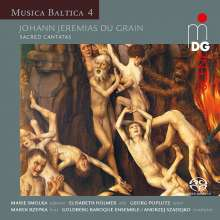 Johann Jeremias du Grain (1700-1756): Geistliche Kantaten, Super Audio CD