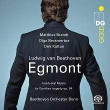 Ludwig van Beethoven (1770-1827): Egmont op.84, Super Audio CD
