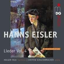 Hanns Eisler (1898-1962): Lieder Vol.4, CD