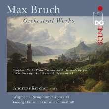 Max Bruch (1838-1920): Orchesterwerke, 2 CDs