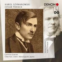 Karol Szymanowski (1882-1937): Streichquartette Nr.1 & 2, 2 CDs