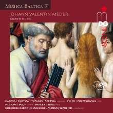 Johann Valentin Meder (1649-1719): Geistliche Musik, Super Audio CD