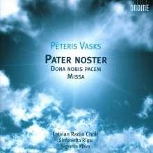"""Peteris Vasks (geb. 1946): Geistliche Chorwerke """"Pater Noster"""", CD"""