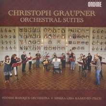 Christoph Graupner (1683-1760): Orchestersuiten, CD