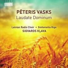 "Peteris Vasks (geb. 1946): Geistliche Chorwerke ""Laudate Dominum"", CD"