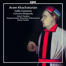 Aram Khachaturian (1903-1978): Cellokonzert e-moll, CD